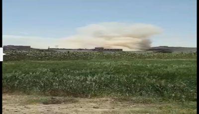 """البيضاء: المليشيا الإنقلابية تفجر منزل مواطن وتشن حملة إختطافات """"بذي ناعم"""""""