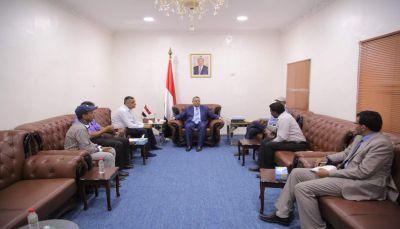 مناقشات حكومية لتفعيل الأنشطة الثقافية والفنية في عدن وكافة المحافظات