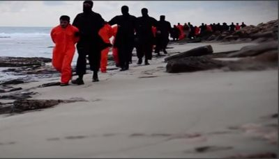 السلطات الليبية تبلغ مصر أبلغتنا العثور على جثث الأقباط الذين أعدمهم الجهاديون