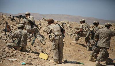 القوات الحكومية تصد هجوماً للحوثيين في جبهة مقبنة غربي تعز