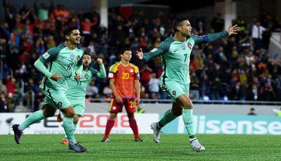فوز البرتغال وسويسرا يؤجل حسم بطاقة التأهل لروسيا بينهما للثلاثاء