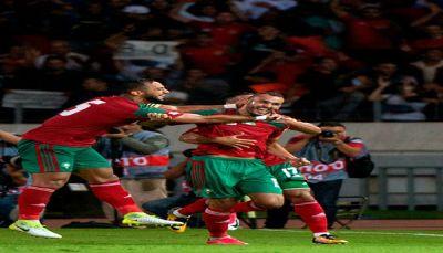 المغرب يقصي الجابون ويؤجل التأهل لروسيا للجولة الأخيرة