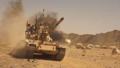 """الجيش ينفذ كمين للحوثيين ويقتل سبعة منهم في جبهة """"البقع"""" بصعدة"""