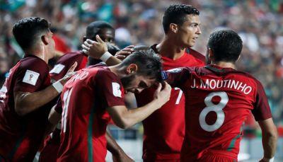 البرتغال تهزم سويسرا بهدفين وتخطف بطاقة التأهل لمونديال روسيا