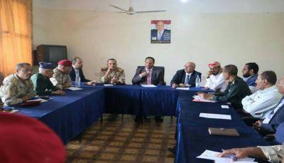 تعز: إجراءات حكومية لتثبيت الأمن وتفعيل مؤسسات الدولة في المحافظة