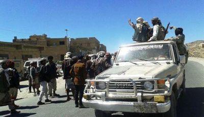 البيضاء: المقاومة تهاجم مواقع عمليات ميلشيات الحوثي وصالح بمديرية القرشية