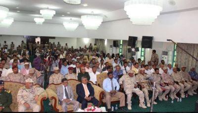 حضرموت: السلطة المحلية تقيم حفلاً فنياً وخطابياً بمناسبة أعياد الثورة اليمنية