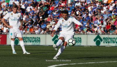 رونالدو ينقذ ريال مدريد من فخ خيتافي