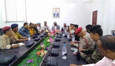 مأرب: اللجنة الأمنية تقر تشكيل لجنة تحقيق في الاعتداء على حراسة المحافظة