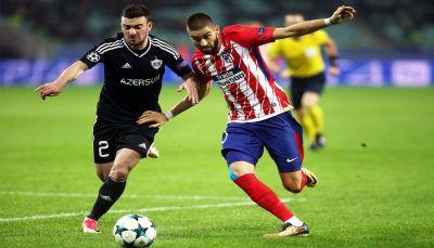 أتلتيكو مدريد يتعادل أمام باج أجدام الأذربيجاني في دوري الأبطال
