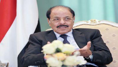 نائب الرئيس اليمني يدعو إلى اصطفاف وطني واسع لإنهاء الانقلاب الحوثي