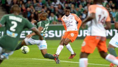 مونبيليه يخطف الفوز من سانت اتيان في الدوري الفرنسي