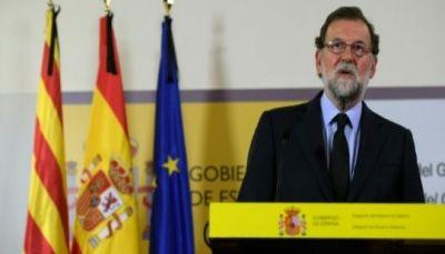 """رئيس الحكومة الإسبانية: """"الحل الوحيد الممكن"""" في كاتالونيا هو تعليق الحكم الذاتي"""
