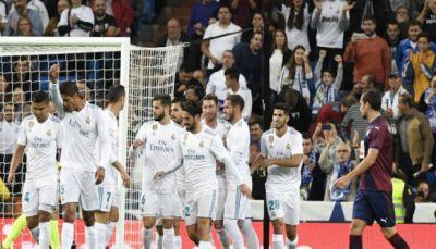 ريال مدريد يضرب إيبار بالثلاثة في الليجا