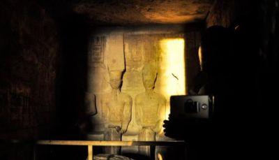 الشمس تزور تمثال أشهر فراعنة مصر 22 دقيقة