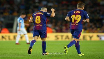 فوز برشلونة على مالاجا يثير الجدل على أغلفة صحف إسبانيا