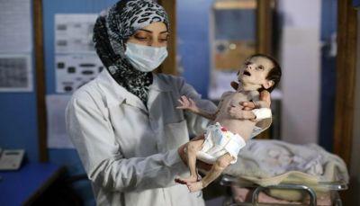 الشبكة السورية: 397 مدنيا قضوا جوعا بسبب حصار النظام لغوطة دمشق