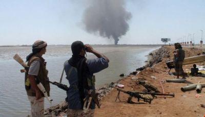 حجة: قتلى وجرحى من ميلشيات الحوثي في تسع غارات جوية في ميدي