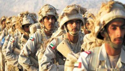 الإمارات تعلن مقتل جندي من قواتها المشاركة في التحالف العربي باليمن