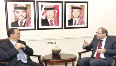 وزير الخارجية الأردني: ندعم حلا سياسيا باليمن وفق المرجعيات الثلاث