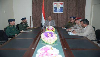 نائب الرئيس يشدد على رفع مستوى القدرات الأمنية لمنتسبي الداخلية