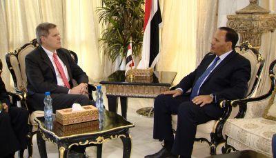 أمريكا تجدد تأكيدها الحرص على دعم الشرعية وإنهاء الانقلاب في اليمن
