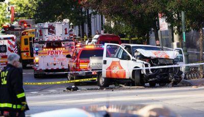 قتلى وجرحى بحادث دهس في مانهاتن الأميركية