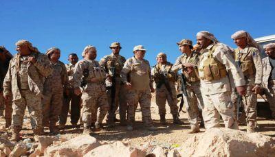 """من جبهة نهم.. نائب الرئيس يدعو القبائل والقوات المسلحة إلى الانتفاض وإنهاء """"كابوس الإنقلاب"""""""