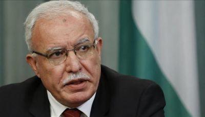 وزير الخارجية الفلسطيني يتهم أمريكا بالتعدي على القانون الدولي