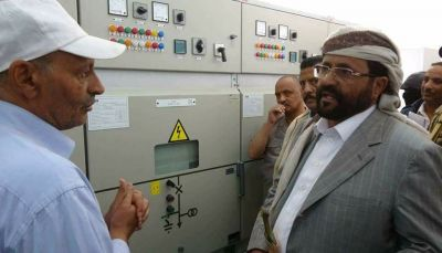 مأرب: إنجاز 60% من مشروع ربط المحافظة بالكهرباء الغازية في مرحلته الأولى