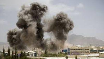 لليوم الثاني على التوالي.. طيران التحالف يستهدف مواقع الانقلابيين بالعاصمة صنعاء