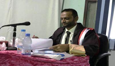 """الدكتوراه بامتياز للباحث """"عبد الفتاح الحميدي"""" من جامعة تعز"""
