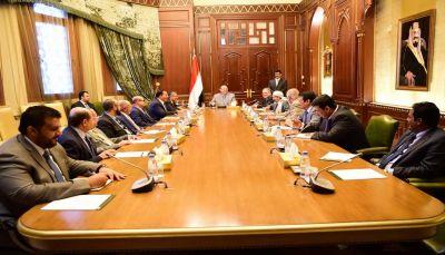 الرئيس هادي: وديعة سعودية قدرها 2 مليار دولار لدعم البنك المركزي واستقرار العملة