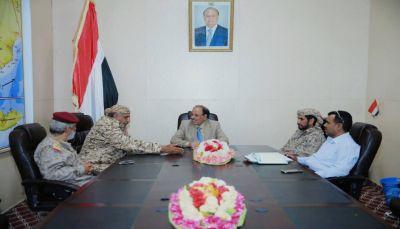 نائب الرئيس يشيد بتضحيات أبطال الجيش ويقول: الحرب اليوم هي ضد المشروع الايراني