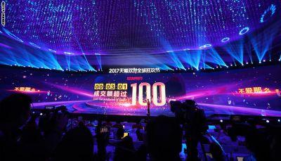 موقع صيني يحقق أرباحاً صاعقة وصلت إلى 25 مليار دولار في 24 ساعة