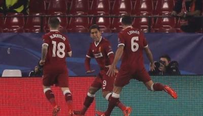 إشبيلية يحقق التعادل مع ليفربول في الدقائق الأخيرة ويؤجل المتأهلين
