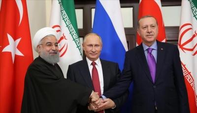 """خلال قمة سوتشي الثلاثية.. إردوغان يقول """"قرارات حيوية ستتخذ الأربعاء لحل الأزمة السورية"""""""