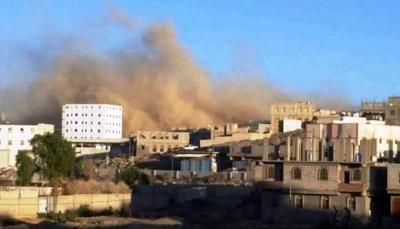 البيضاء: مقتل 15 حوثياً بينهم قياديين وتدمير مستودع أسلحة بغارات للتحالف