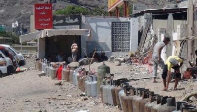 أرباح هائلة للحوثيين من تجارة الغاز المنزلي بالسوق السوداء (تقرير خاص)