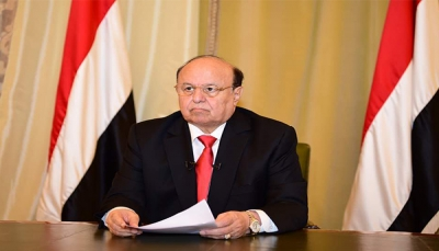 رئيس الجمهورية يدعو جميع أبناء الشعب اليمني الى الانتفاض في وجه المليشيا ومقاومتها ونبذها (نص الكلمة)