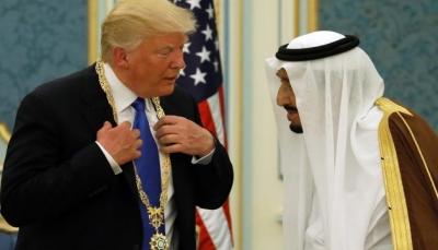 """ترامب يطلب من السعوديين العمل """"على الفور"""" لإدخال المساعدات الانسانية الى اليمن"""