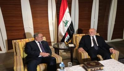 المخلافي يبحث مع الجعفري المعتقلين اليمنيين في العراق