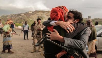البيضاء: نجاح صفقة تبادل للأسرى بين الجيش الوطني والحوثيين (أسماء)