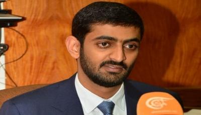 وزير من حزب صالح في حكومة الانقلاب يصل مأرب