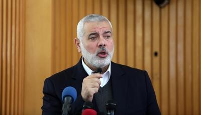 منظمة التحرير الفلسطينية تستنكر إدراج هنية على لوائح الإرهاب الأمريكية