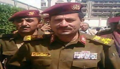 """مقتل القيادي الحوثي """"ياسر الأحمر"""" ووصول جثته إلى مستشفى الثورة بإب"""