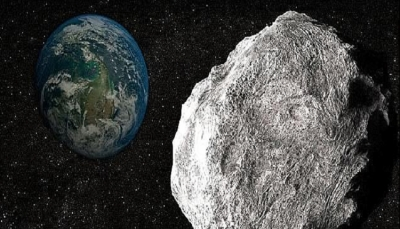 """شاهد بالصور.. كويكب """"خطير"""" وصل لأقرب نقطة من الأرض"""