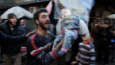 مقتل أكثر من 10 آلاف مدني بسوريا في 2017