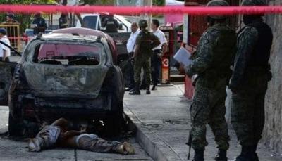 صراع تجار المخدرات في المكسيك يخلف 31 قتيلاً خلال 48 ساعة