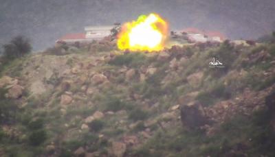 تعز: مقتل و إصابة 4 مدنيين والتحالف يقصف مواقع الحوثيين شرقي المدينة